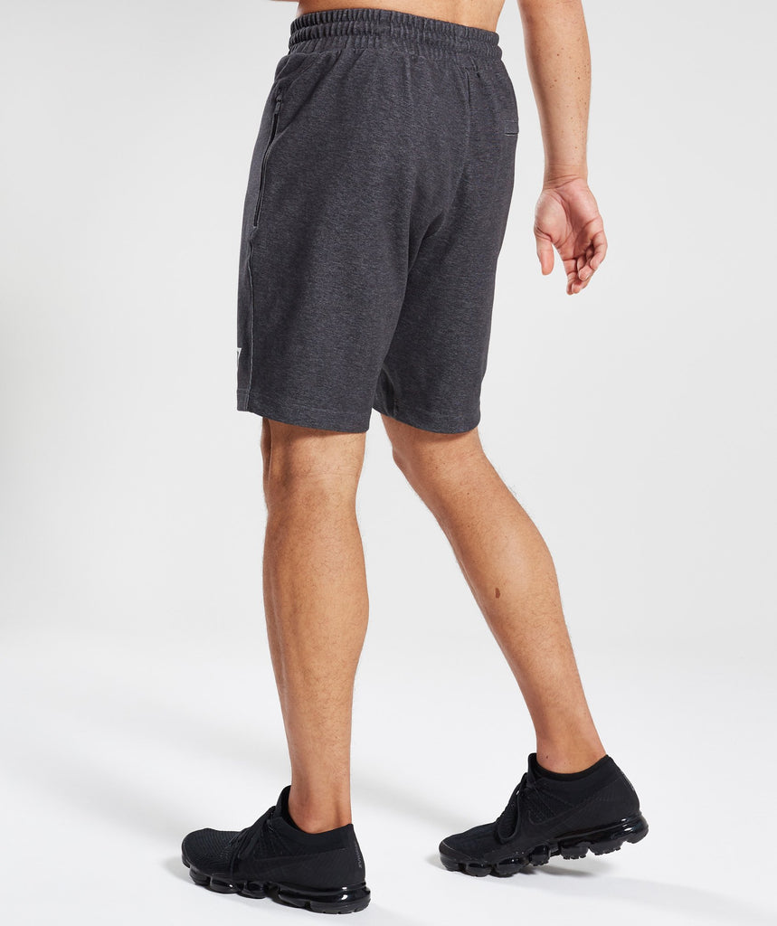 Gymshark Take Over Shorts - Black Marl 2