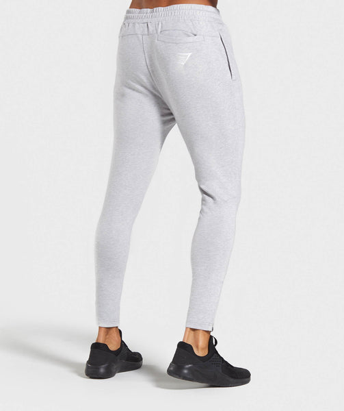 Gymshark Tapered Bottoms - Light Grey Marl 4