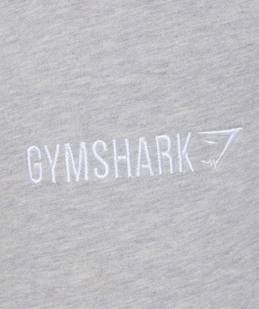 Gymshark Tapered Bottoms - Light Grey Marl 6