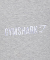 Gymshark Tapered Bottoms - Light Grey Marl 12