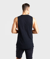 Gymshark Tonal Sleeveless T-Shirt - Black 8
