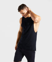 Gymshark Tonal Sleeveless T-Shirt - Black 9