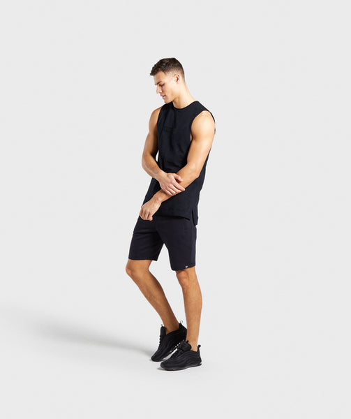 Gymshark Tonal Sleeveless T-Shirt - Black 3