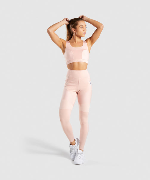 Gymshark True Texture Leggings - Blush Nude 3