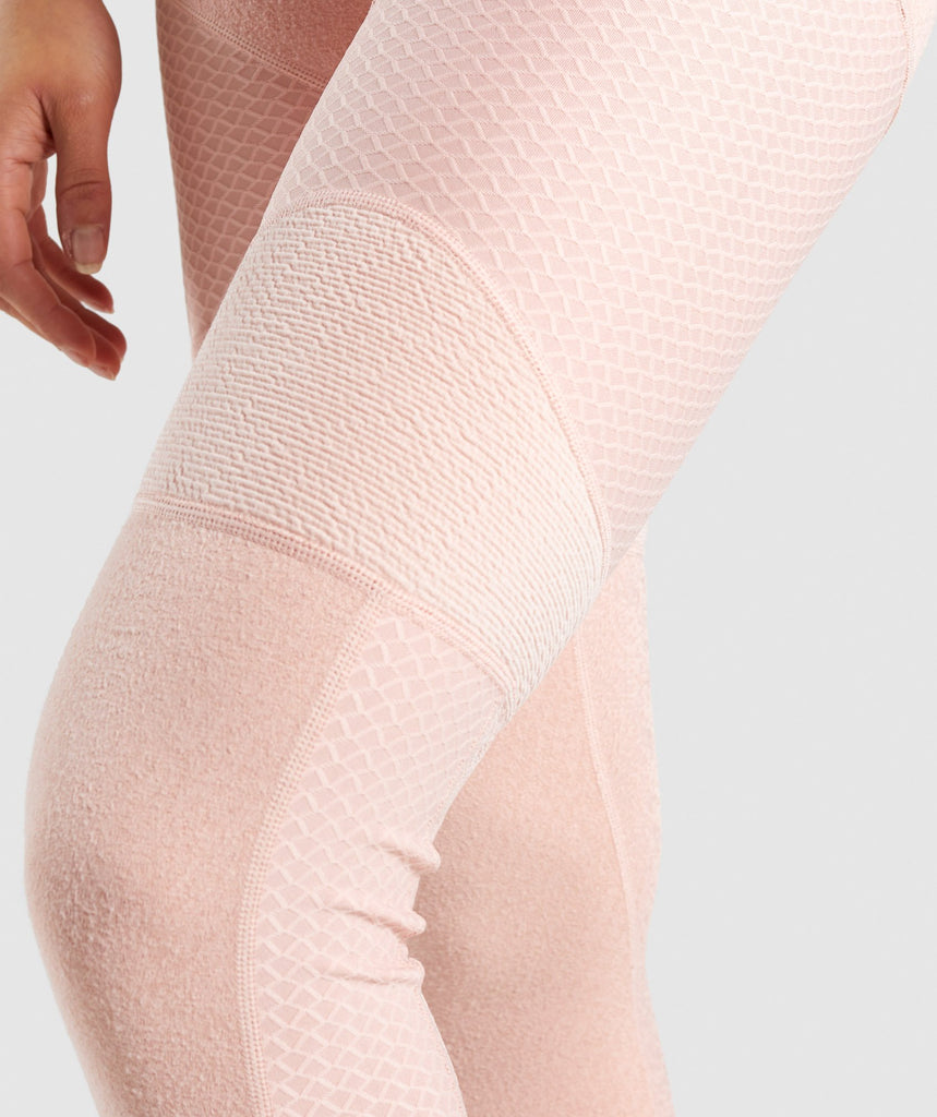 Gymshark True Texture Leggings - Blush Nude 5