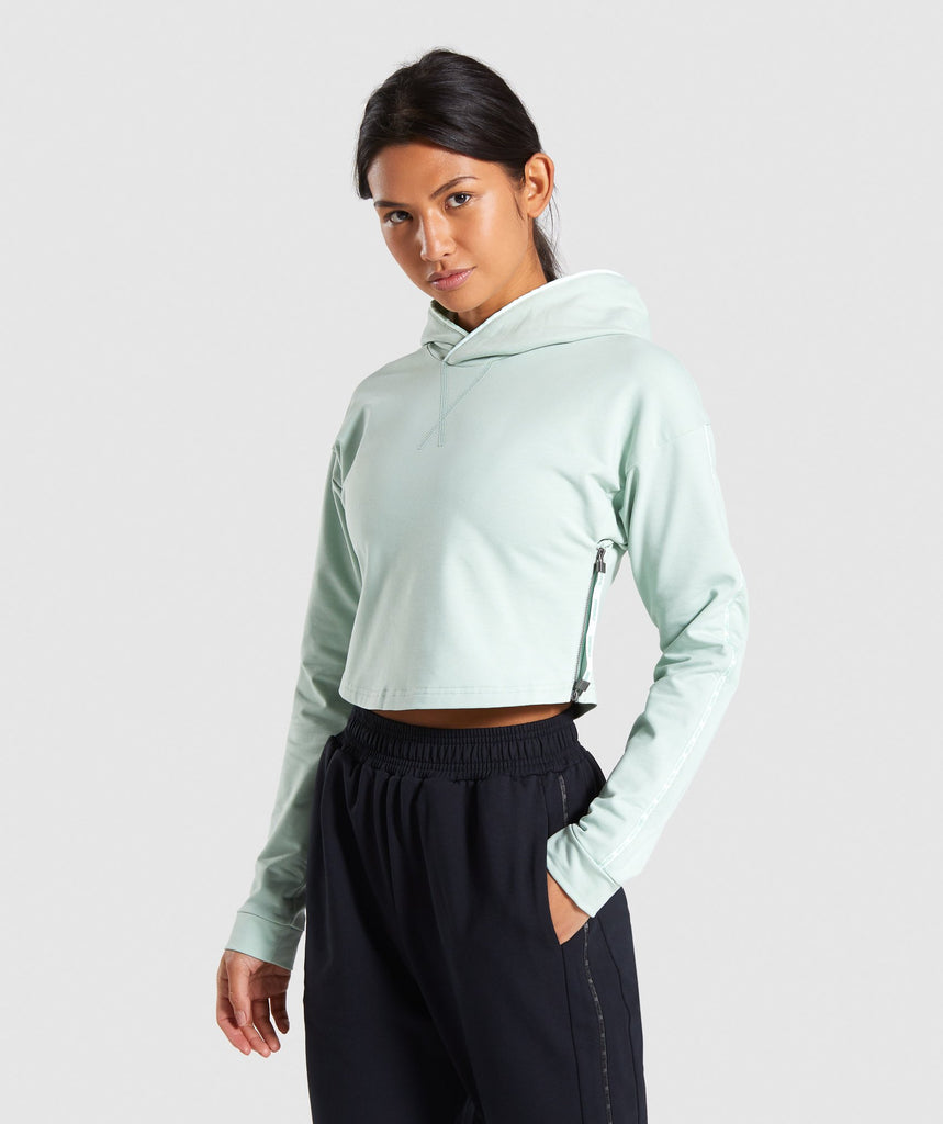 Gymshark Recess Hoodie - Light Green 1