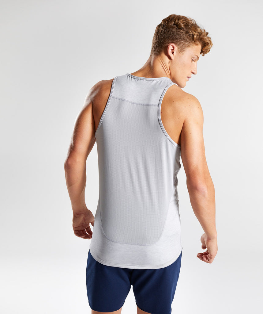 Gymshark Vertex Tank - Light Grey 2