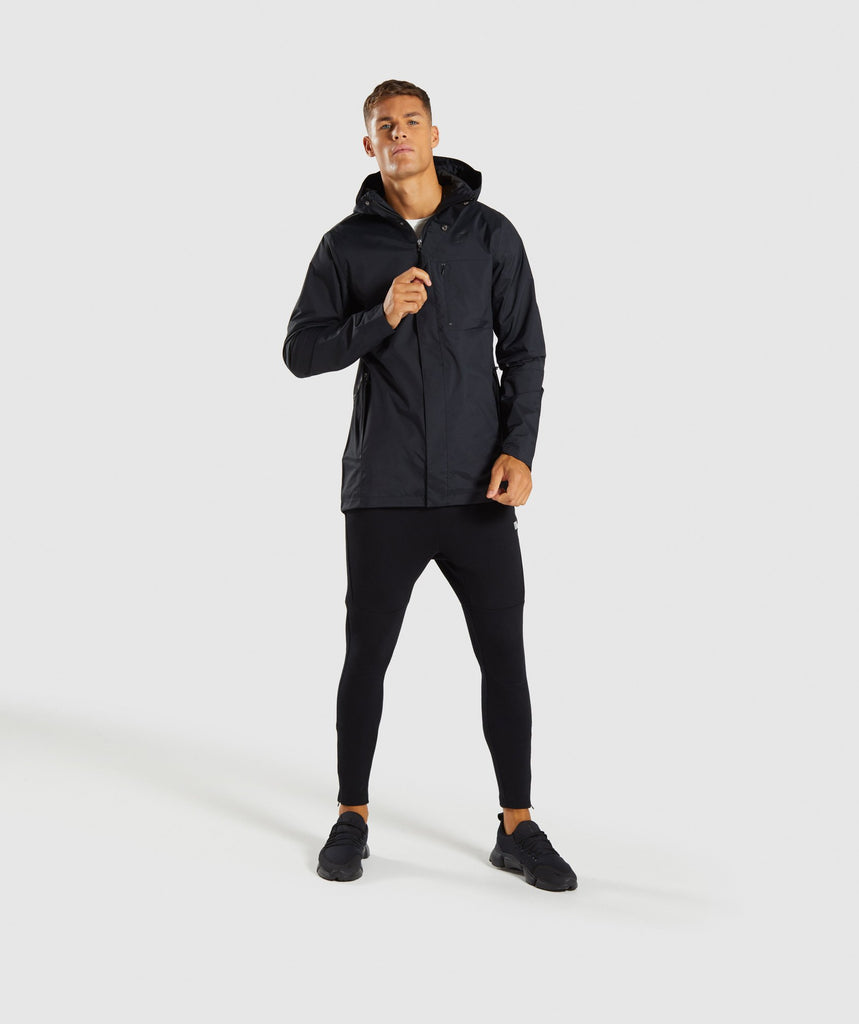 Gymshark Vortex Waterproof Jacket - Black 5