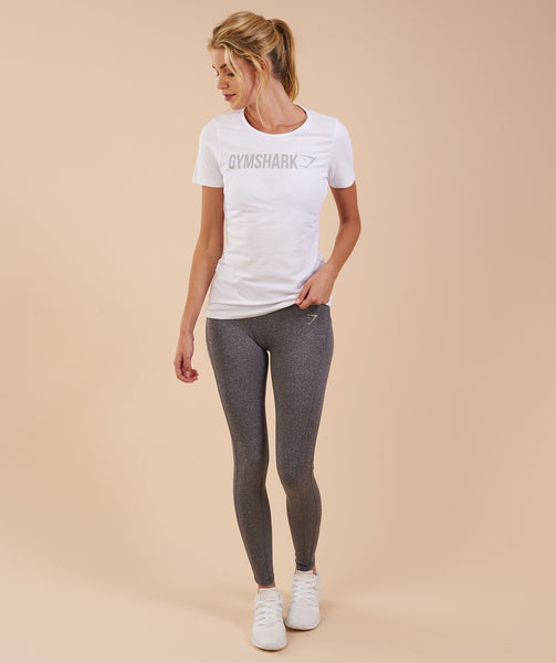 Gymshark Apollo T-Shirt - White 3
