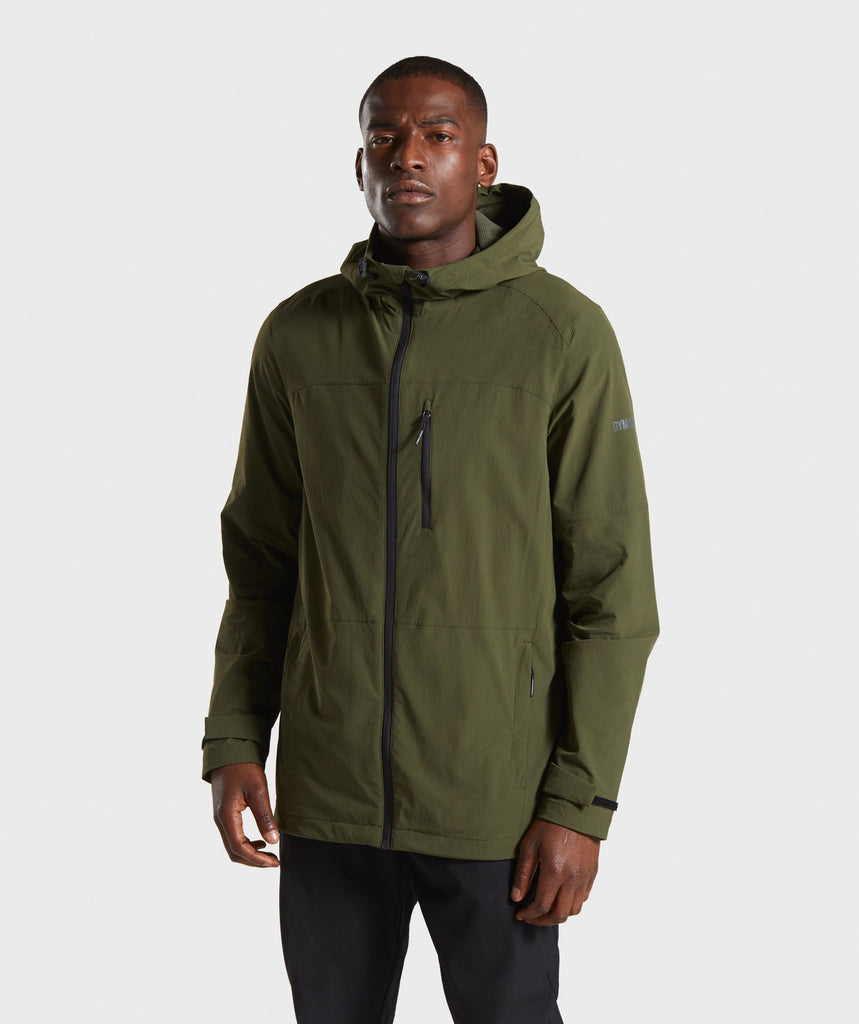 Gymshark Windcheater - Dark Green 1