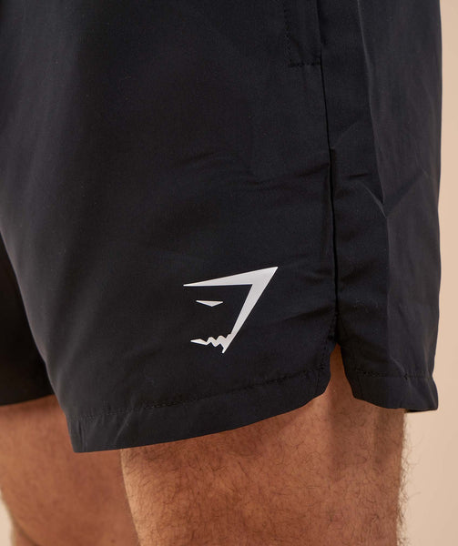 Gymshark Atlantic Swim Shorts - Black 4