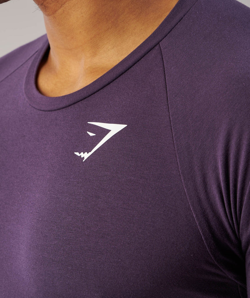 Gymshark Form T-Shirt - Nightshade Purple 5