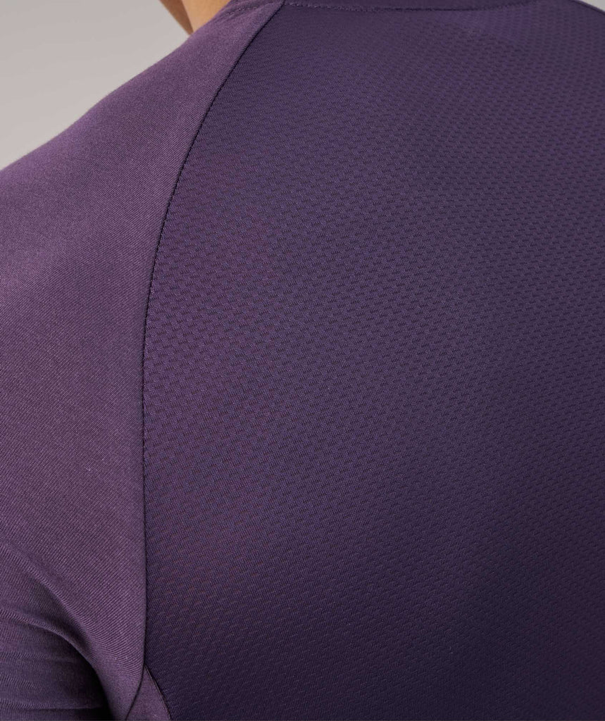 Gymshark Form T-Shirt - Nightshade Purple 6