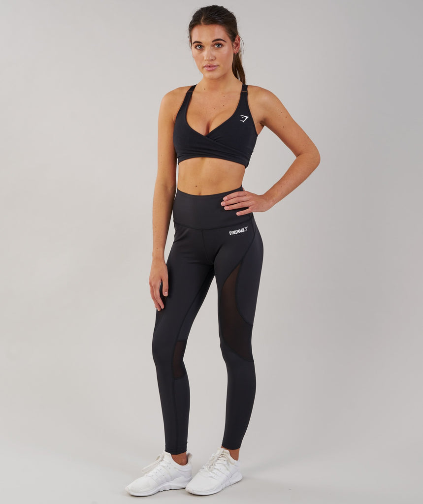Gymshark Fusion Leggings - Black 1