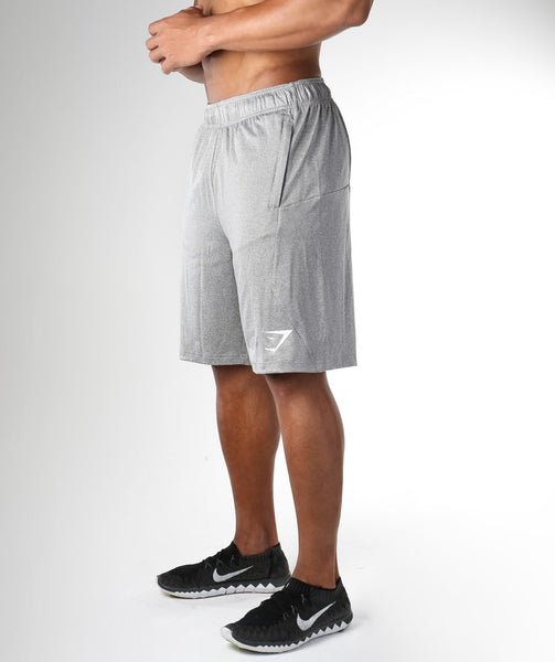 Gymshark DRY Element Sweat Shorts - Grey 2