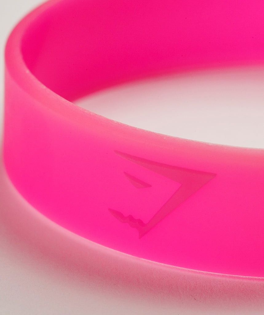 Gymshark Wristband - Hot Pink