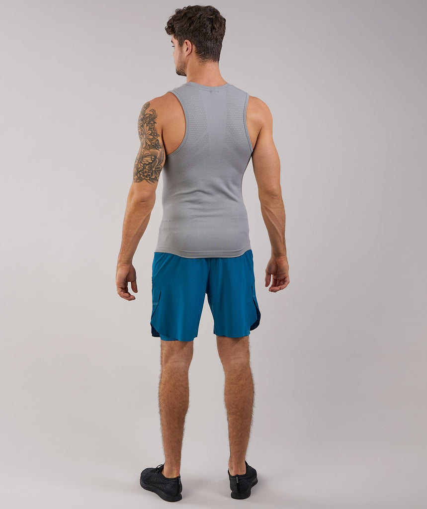 Gymshark Onyx II Tank - Light Grey 2