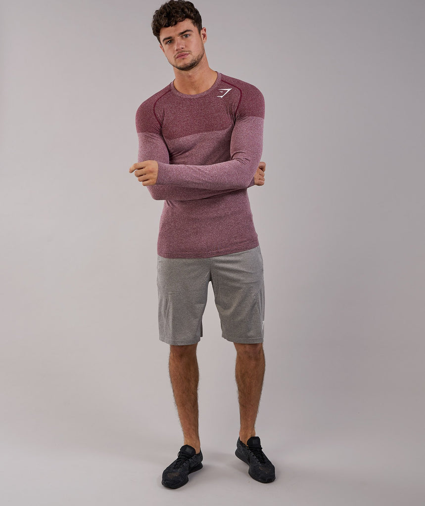 Gymshark Phantom Seamless Long Sleeve T-Shirt - Port Marl 1
