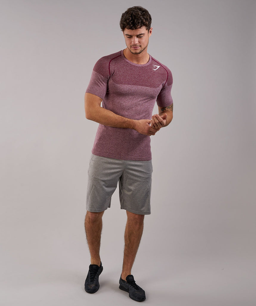 Gymshark Phantom Seamless T-Shirt - Port Marl 1