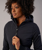 Gymshark Mellow Fitted Puffer Jacket - Black 11