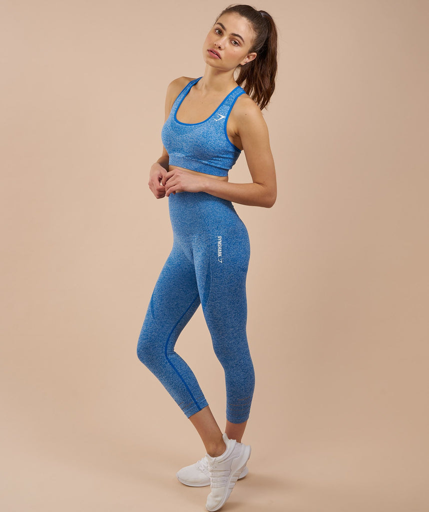 Gymshark Seamless Sports Bra - Blueberry Marl