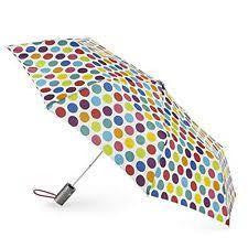TOTES AOC Polka Dot Umbrella - 24 Piece Minimum