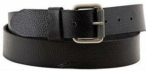 Timberland 40mm Milled Pull Up Belt Black - 24 Piece Prepack