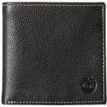 Timberland Men's Genuine Leather Horizontal Passcase Flipfold Wallet - Black - 24 Piece Prepack