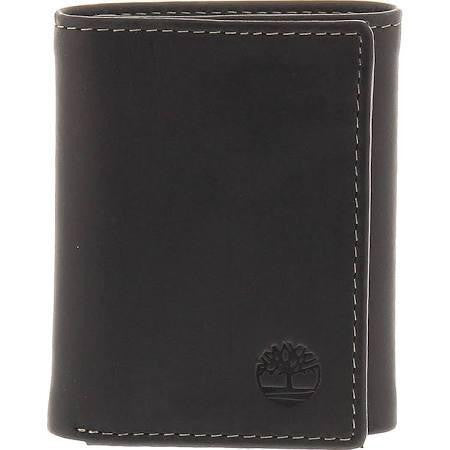 Timberland Wallets Hunter Trifold Wallet Black - 36 Piece Prepack