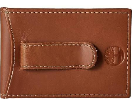 Timberland Hunter Flip Clip Wallet Brown - 24 Piece Pack