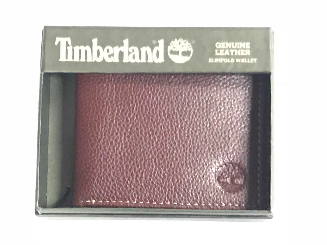 Timberland Premium Leather Slimfold Wallet - 24 Piece Minimum Order (*NEW*)