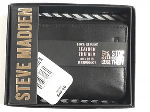 Steve Madden Trifold Wallet - 24 Piece Minimum Order (*NEW*)