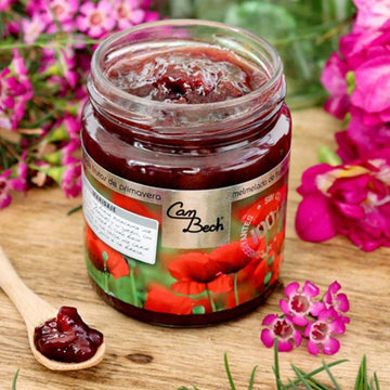 Spring fruits Jam: Peach and cherry 285g