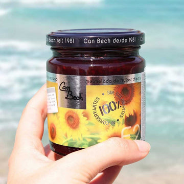 Summer fruits Jam: Raspberry, strawberry, red currant 285g