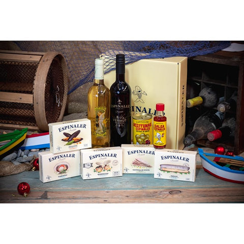 Gift box of premium Galician canned fish 12 Specialties