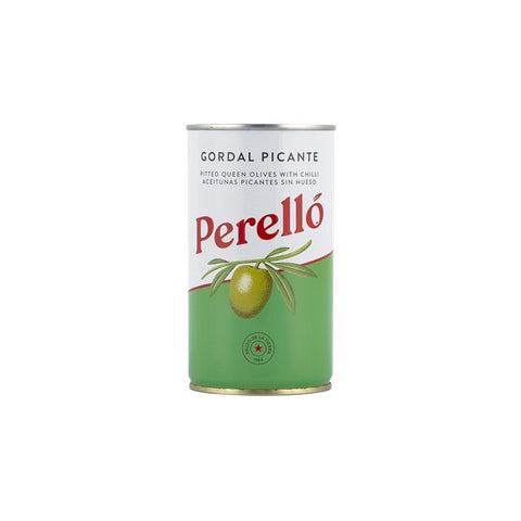 Spicy Pitted Gordal Olives 350g