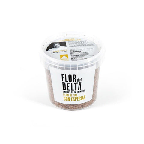 Flor del Delta - Salt flowers (Fleur de Sel) with spices 400g