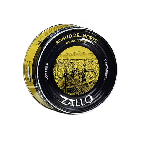 "Conservas Zallo - White Tuna ""Bonito del Norte"" in olive oil 266g"