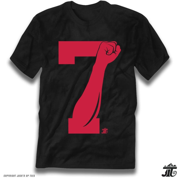 '7 Fist Up' Colin Kaepernick Mens Cotton T Shirt