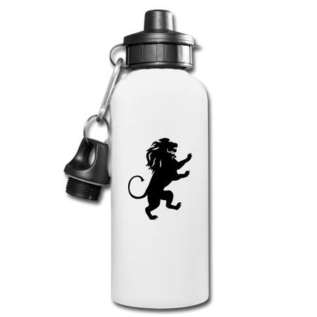 Lion Water Bottle - white