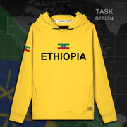 Ethiopia Horn of Africa Sweater and Hoodie Option - Select Hooded or Roundneck Option in Color Dropdown Menu