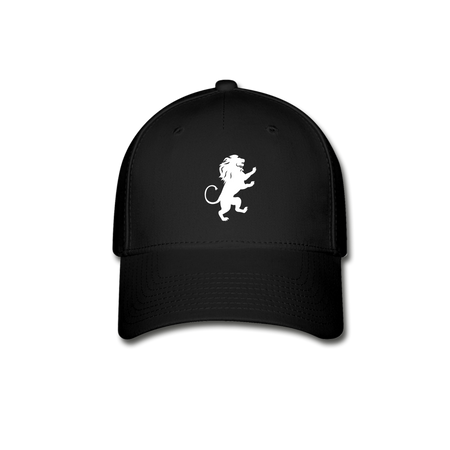 Lion Baseball Cap - black