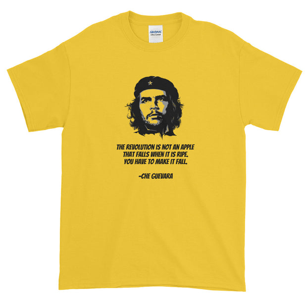 Che Guevara Short-Sleeve T-Shirt - Revolution is not an apple