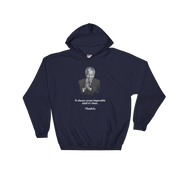 Mandela Hooded Sweatshirt -It always seems impossible until it's done.