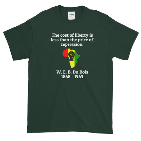 Cost of Liberty Short-Sleeve T-Shirt- WEB Du Bois