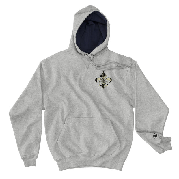 New Orleans Fleur-De-Lis Champion Hoodie - CAN BE PERSONALIZED