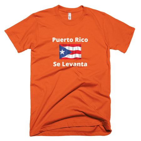 Puerto Rico Se Levanta Short-Sleeve T-Shirt