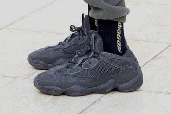 The Yeezy 500 Arrives In A Black Colourway