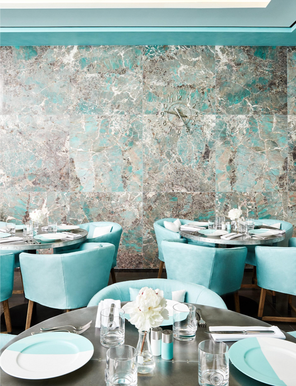 Tiffany Blue Box Cafe Arrives In Harrods