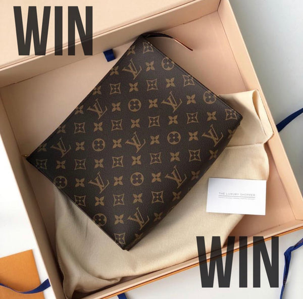 Louis Vuitton Toiletry Pouch Giveaway Winner!